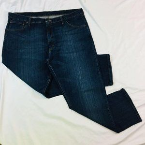 Wrangler Mens Relaxed Fit Jeans Size 40 x 29 Dark